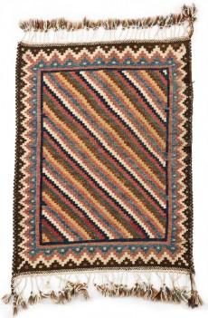 10724-1 Qashqaie Kilim Sofreh