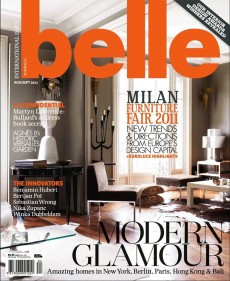 Belle Magazine Aug/Sept 2011