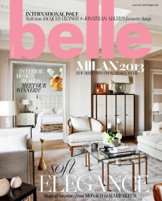 Belle Magazine Aug/Sept 2013