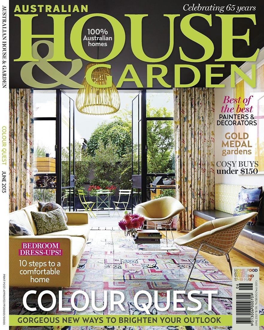 House & Garden June 2013 • Behruz Studio