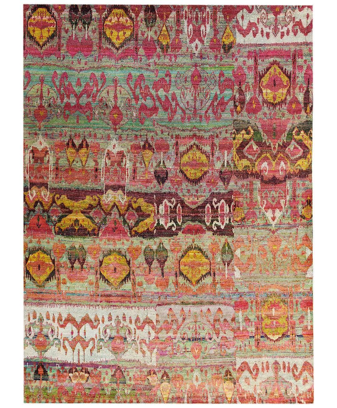 New to the Silk Sari Rug Collection....