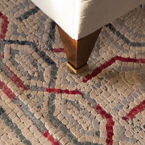 The Claudius rug from the Mosaic Collection...