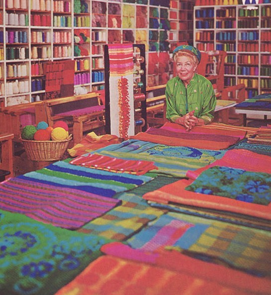 """The mother of modern textile weaving"" Dorothy..."