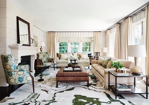 A beautifully classic interior by @adelaidebragg Custom...